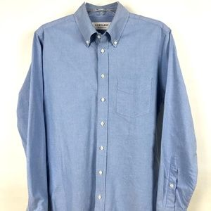 Everlane button down oxford in light blue